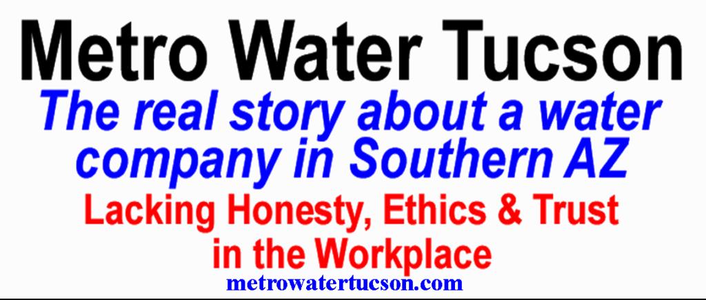 Metro Water Tucson, metrowatertucson, Tucsonmetrowater, Tucson AZ, metrowater, metro water